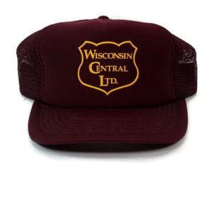 VTG Wisconsin Central Transportation Railroad Hat